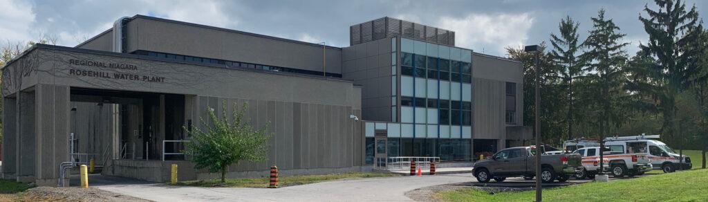 Region of Niagara - Rosehill Water Plant exterior